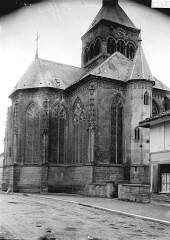 Eglise - Abside et clocher