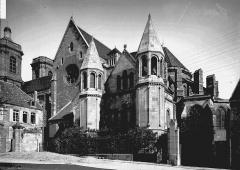 Cathédrale Saint-Mammes - Ensemble sud-est