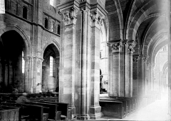 Cathédrale Saint-Mammes - Vue diagonale de la nef