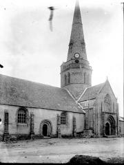 Eglise Notre-Dame-de-Joie - Clocher et partie latérale