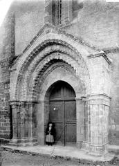 Eglise Notre-Dame-de-Joie - Portail ouest