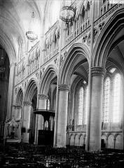 Cathédrale Notre-Dame - Travées de la nef, côté sud
