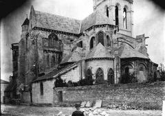Eglise Notre-Dame - Abside et transept, au sud
