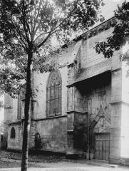 Sainte-Chapelle ou chapelle Saint-Louis - Portail latéral