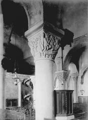 Eglise Saint-André - Colonnes et chapiteaux