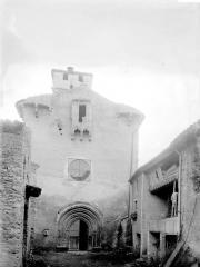 Eglise Saint-Julien - Façade ouest