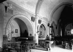 Eglise Saint-Fargheon - Nef vue de l'entrée