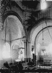 Eglise Saint-Fargheon - Croisée et choeur