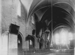 Eglise Saint-Sulpice - Nef vue de l'entrée