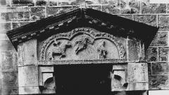 Eglise Sainte-Croix - Tympan