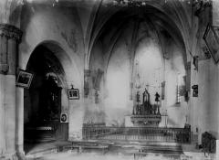 Eglise de Courtesserre - Choeur