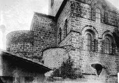 Eglise Notre-Dame - Abside et base du clocher
