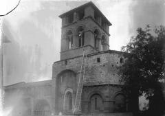 Eglise Notre-Dame de Mailhat - Clocher et partie latérale