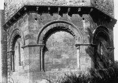 Eglise Notre-Dame de Mailhat - Partie de l'abside