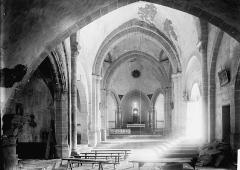 Eglise Notre-Dame de Mailhat - Nef vue de l'entrée