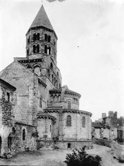 Eglise Notre-Dame (ou Saint-Saturnin) - Abside et clocher, au sud