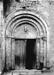 Eglise Saint-Médulphe (ou Saint-Myon) - Portail