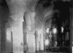 Eglise Saint-Médulphe (ou Saint-Myon) - Nef vue de l'entrée