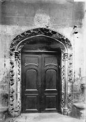 Cathédrale Notre-Dame - Porte de la sacristie