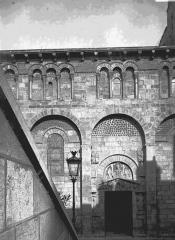Eglise Notre-Dame-du-Port - Partie de la façade sud