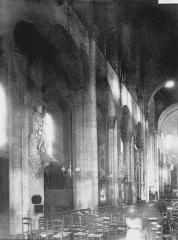 Eglise Notre-Dame-du-Port - Nef vue de l'entrée