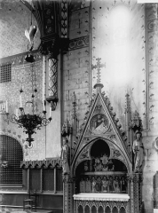 Chapelle de la Visitation (anciennement chapelle du couvent des Jacobins) - Autel