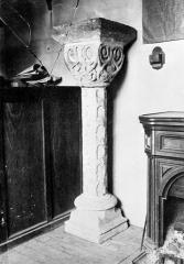Eglise - Chapiteau et colonne