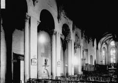 Abbaye Saint-Pierre - Nef vue de l'entrée