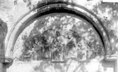 Abbaye Saint-Pierre - Tympan