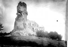 Château fort de Tournoël - Vue d'ensemble