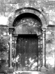 Eglise Saint-Limin (ou Saint-Martin) - Portail