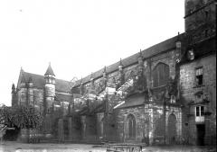 Ancienne abbaye Saint-Colomban - Façade latérale nord
