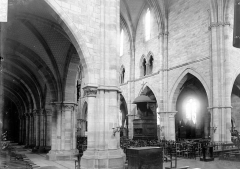 Ancienne abbaye Saint-Colomban - Vue diagonale