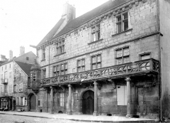 Maison dite du Cardinal Jouffroy - Façade sur la rue