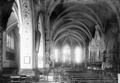 Eglise Saint-Maurice - Nef vue de l'entrée