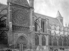 Abbaye Sainte-Colombe - Partie de la façade nord
