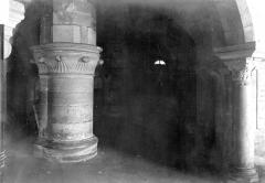 Abbaye Sainte-Colombe - Crypte