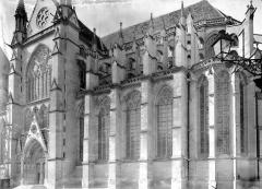 Cathédrale Saint-Etienne - Transept et abside, au sud