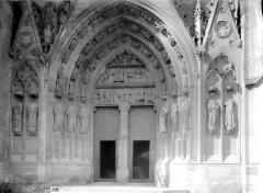 Cathédrale Saint-Etienne - Portail