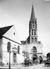 Eglise Notre-Dame - Clocher, à l'ouest