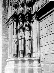 Eglise Notre-Dame - Portail ouest, ébrasement