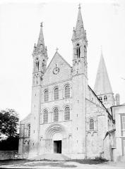 Ancienne abbaye Saint-Georges-de-Boscherville - Ensemble ouest