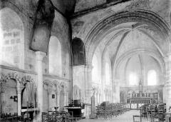 Ancienne léproserie de Saint-Julien-le-Chartreux - Nef vue de l'entrée