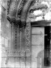 Ensemble archiépiscopal - Portail Saint-Jean, piédroit et départ d'archivolte