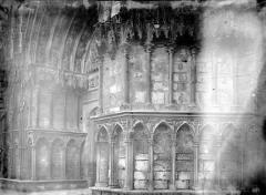 Cathédrale Saint-Etienne - Portail ouest, détail
