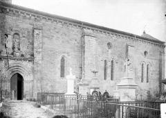 Eglise Saint-Pierre - Façade latérale