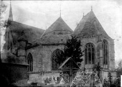 Eglise Notre-Dame-de-la-Couture - Abside