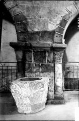 Eglise Saint-Gildas - Chapiteaux déposés