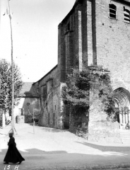 Eglise de la Décollation de Saint-Jean-Baptiste - Angle nord-ouest