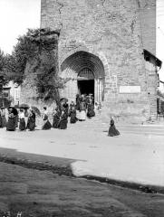 Eglise de la Décollation de Saint-Jean-Baptiste - Portail ouest